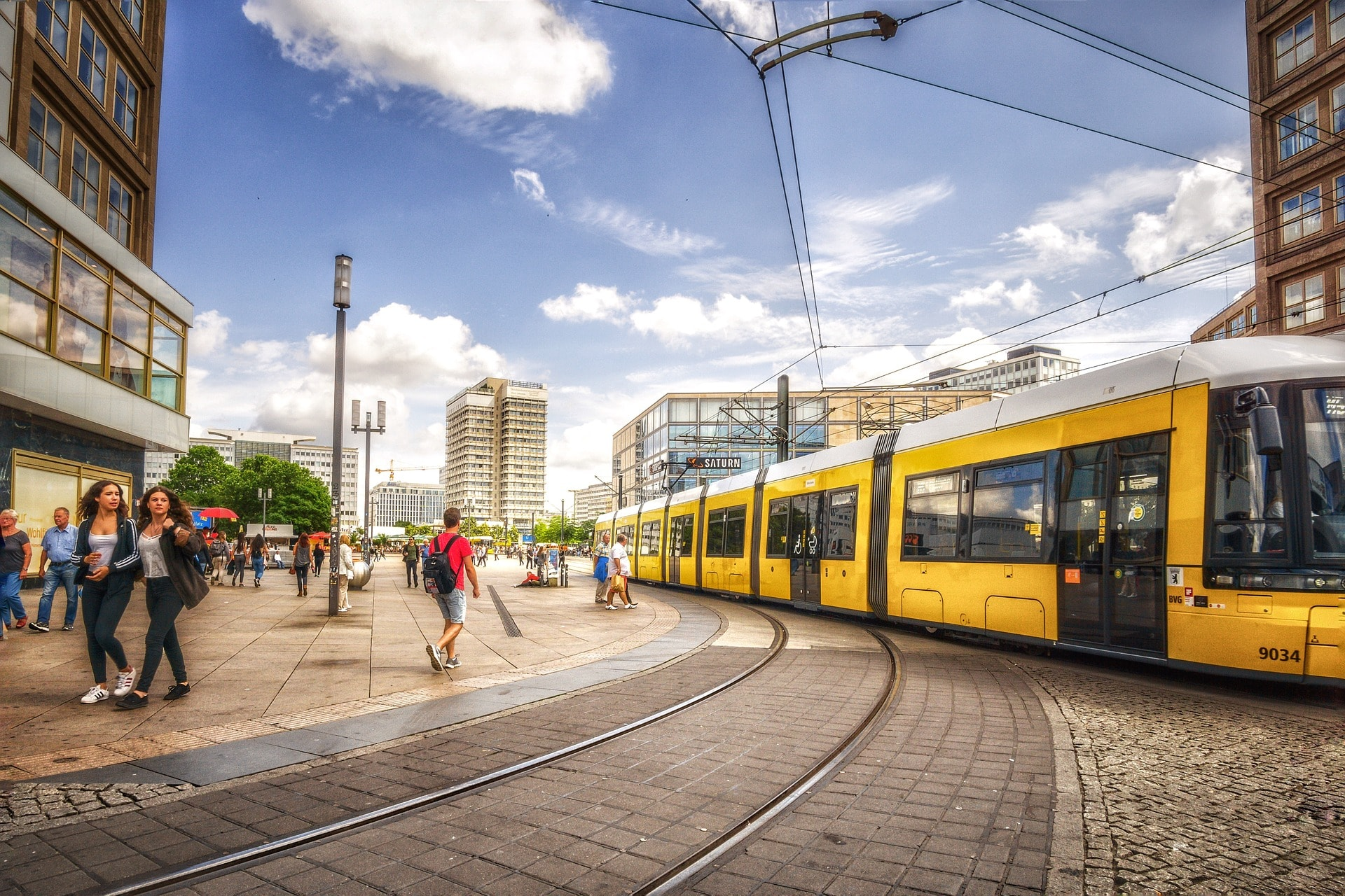 Ubiquity Consulting Tram Berlin